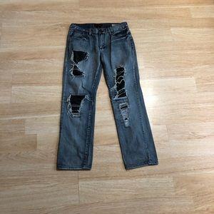 Guess Men's Jeans Destroyed Del Mar Fit